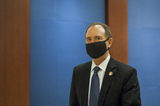 Adam Schiff Photo - United States Representative Adam Schiff (Democrat of California) makes her way to a classified briefing on election security for members of Congress at the US Capitol in Washington DC Friday July 31 2020 Credit Rod Lamkey  CNPAdMedia