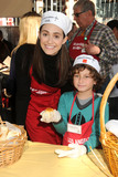 August Maturo Photo - 25 November 2015 - Los Angeles California - Emmy Rossum August Maturo 2015 Los Angeles Mission Thanksgiving Meal for the Homeless held at the LA Mission Photo Credit Byron PurvisAdMedia