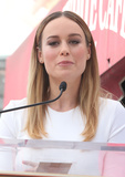 Brie Larson Photo - 11 March 2017 - Hollywood California - Brie Larson John Goodman Honored With Star On The Hollywood Walk Of Fame Photo Credit AdMedia