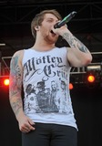 Asking Alexandria Photo - 21 May 2011 - Columbus Ohio - Vocalist DANNY WORSNOP of the English band ASKING ALEXANDRIA performs as part of the Rock On The Range festival held at Columbus Crew Stadium Photo Credit Jason L NelsonAdMedia