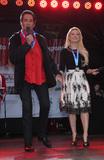 Wayne Newton Photo - 02 December 2017 - Las Vegas NV - Wayne Newton Holly Madison 2017 Las Vegas Great Santa Run Kickoff with Grand Marshals Wayne Newton and Holly Madison at The Fremont Street Experience Photo Credit MJTAdMedia
