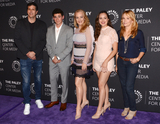 Lea Thompson Photo - 17 October 2017 - Beverly Hills California - DOUG ROBINSON SAM LERNER WENDI MCLENDON-COVEY and HAYLEY ORRANTIA and LEA THOMPSON Paley Center For Media Presents The Goldbergs 100th Episode Celebration held at The Paley Center for Media Photo Credit Billy BennightAdMedia