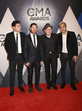 Andy Hurley Photo - 04 November 2015 - Nashville Tennessee - Patrick Stump Pete Wentz Joe Trohman Andy Hurley Fall Out Boy 49th CMA Awards Country Musics Biggest Night held at Bridgestone Arena Photo Credit Laura FarrAdMedia