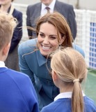 David Attenborough Photo - 26092019 - Duchess of Cambridge meets school children on the deck during the naming ceremony of Britains new polar research ship the RRS Sir David Attenborough at Camel Laird Shipyard in Birkenhead Merseyside Photo Credit ALPRAdMedia