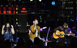 THE HILTONS Photo - 10 November 2017 - Nashville Tennessee - Charles Kelley Hillary Scott Dave Haywood Lady Antebellum The Hilton hosts Lady Antebellum with a performance held at the Country Music Hall of Fame and Museum Photo Credit Dara-Michelle FarrAdMedia