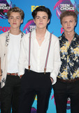 George Smith Photo - 13 August 2017 - Los Angeles California - Reece Bibby Blake Richardson and George Smith of New Hope Club 2017 Teen Choice Awards held at The Galen Center Photo Credit F SadouAdMedia