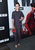 Alexa Nisenson Photo - 27 September 2018 - Hollywood California - Alexa Nisenson The Walking Dead Season 9 Premiere Los Angeles  held at DGA Theater Photo Credit Birdie ThompsonAdMedia