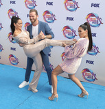 Brie Bella Photo - 11 August 2019 - Hermosa Beach California - Nikki Bella Brie Bella Artem Chigvintsev The Bella Twins FOXs Teen Choice Awards 2019 held at Hermosa Beach Pier Photo Credit PMAAdMedia