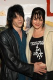 Coyote Shivers Photo - Coyote Shivers and wife Pauley Perrette at the premiere of Down and Out with the Paper Dolls at Cinespace Hollywood CA 03-12-03