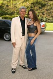 Ashley Degenford Photo - Michael Buffer and Ashley Degenford at the Perect 10 official weigh-in for their Model Boxing Match to take place later thjs week Perfect 10 Mansion Beverly Hills CA 10-08-03