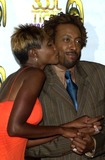 Arsenio Hall Photo - Arsenio Hall and Roshumba Williams at the 8th Annual Soul Train Lady Of Soul Awards Pasadena Civic Auditorium Pasadena CA 08-24-02