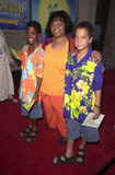 Nell Carter Photo -  Nell Carter with Joshua and Daniel at the premiere of Disneys Little Mermaid 2 in Hollywood 09-16-00