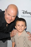 Atticus Shaffer Photo - Larry Miller and Atticus Shafferat the 2009 Disney-ABC Television Group Summer Press Tour Langham Resort Pasadena CA 08-08-09