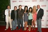 Jessica Jaymes Photo - L-R Mike Horner Kyle Stone Jeff Conway Jessica Jaymes Vicki Lizzie Mary Carey and Maestro Claudio at the Celebrity Pornhab with Dr Screw Premiere Party Les Deux Hollywood CA 06-01-09