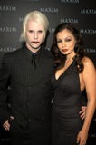 Aria Giovanni Photo - Johnny Five and Aria Giovanni at Maxim Magazines presentation of the Pussycat Dolls Henry Fonda Theater Hollywood CA 12-03-02