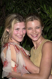 Ali Larter Photo -  Ali Larter and Amy Smart at the Guess and Vanity Fair Campaign Hollywood party to benefit the Environmental Media Association Les Deux Cafes 03-19-01