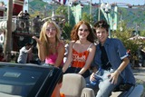 Amy Davidson Photo - Kaley Cuoco Amy Davidson and Martin Spangers at the first day of the ABC Primetime Preview Weekend at Disneys California Adventure Anaheim CA 08-24-02