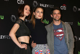 Jeremy Jordan Photo - Chyler Leigh Melissa Benoist Jeremy Jordanat Supergirl at the 33rd Annual PaleyFest Los Angeles Dolby Theater Hollywood CA 03-13-16