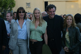 Angelica Huston Photo - Angelica Huston Kelly Lynch Danny Huston and Sheryl Crow at the premiere of Ivans Etc at Raleigh Studios Hollywood 06-04-02