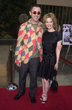 Alan Cumming Photo -  Alan Cumming and Jennifer Jason Leigh at the premiere of Fine Lines The Anniversary Party at the Egyptian Theater Hollywood 06-06-01