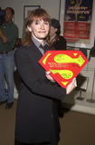 Sarah Douglas Photo -  Sarah Douglas at the check presentation by Warner Home Video to the Christopher Reeve Paralysis Foundation to commemorate the release of Superman The Movie on DVD Warner Brothers Studios Burbank 05-01-01