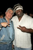 BD Freeman Photo - Jay Leno and BD Freemanat a party before a Katrina Wilma and Rita Hurricane relief Auction benefitting Save the Children Automotive Legends Malibu CA 11-11-05