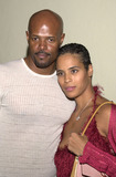 Angelica Bridges Photo -  Keenen Ivory Wayans and wife Daphne at the Playboy Party for covergirl Angelica Bridges Sunset Room Hollywood 10-12-01