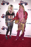 Alexis Arquette Photo - Alexis Arquette and friend Angel at the premiere party for Sketchers 4-Wheelers a modern day roller skate  Hollywood Palladium 04-18-02