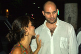 Ahmet Zappa Photo - Angie Harmon and Ahmet Zappa at Mr Chows Restaurant in Beverly Hills CA 08-10-04