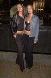 Teena Collins Photo -  Nikki and Teena Collins at the premiere party for the new Sci-Fi series TRACKER at 360 in Hollywood 10-18-01