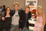 Ryan Pinkson Photo - April Matson Jake McDorman Johnny Lewis Ryan Pinkson and Sarah Wright at the World Premiere of Garfield The Movie Zanuck Theater  Los Angeles CA 06-06-04