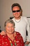 Anne V Photo - James Hickox and mother Anne V Coates