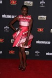 Danai Gurira Photo - Danai Guriraat The Walking Dead Season 5 Premiere Universal Citywalk Universal City CA 10-02-14