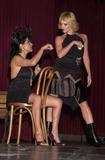 Apollonia Photo -  Apollonia and Lisa Arturo at the Kabarett fashion show benefitting DIFFA El Rey Theater Los Angeles 09-17-01