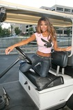 Traci Bingham Photo - Traci Bingham EXCLUSIVE on her way to make on appearance on KTLA Television Hollywood CA 11-02-08