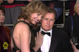 Allison Janney Photo -  Allison Janney and Martin Sheen at the 7th Annual Screen Actors Guild Awards held at the Shrine Auditorium Los Angeles 03-11-01