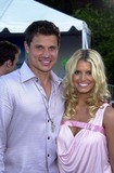 Jessica Simpson Photo - Jessica Simpson and Nick Lachey at the Teen Choice Awards 2003 Universal Amphitheater Universal City CA 08-02-03