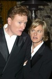 Conan OBrien Photo - Conan OBrien and Ellen Degeneres at the HBO Post-Emmy party Spago Beverly Hills CA 09-22-02