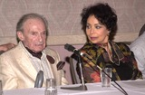 Arlene Martel Photo - Jonathan Harris and Arlene Martel who co-starred in the TZ episode Twenty-Two at a Twilight Zone reunion and convention at the Beverly Garland Holiday Inn North Hollywood CA 08-24-02