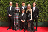 August Maturo Photo - vLOS ANGELES - SEP 12  Ben Savage August Maturo Rowan Blanchard Peyton Meyer Sabrina Carpenter Corey Fogelmanis at the Primetime Creative Emmy Awards Arrivals at the Microsoft Theater on September 12 2015 in Los Angeles CA