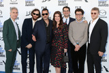 Adam Sandler Photo - LOS ANGELES - FEB 8  Eli Bush Sebastian Bear-McClard Ronald Bronstein Adam Sandler Idina Menzel Ben Safdie and Joshua Safdie at the 2020 Film Independent Spirit Awards at the Beach on February 8 2020 in Santa Monica CA