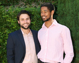 Alfred Enoch Photo - LOS ANGELES - SEP 25  Jack Falahee Alfred Enoch at the The Rape Foundations Annual Brunch at the Private Residence on September 25 2016 in Beverly Hills CA