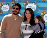 Ali LandryEstela Photo - Ali Landry  Daughter Estela husbandarrives at the Make-A-Wish Foundation Day Event Hosted by Kevin  Steffiana James Pacific Park on the Santa Monica PierLos Angeles CAMarch 14 2010