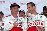 Al Unser Jr Photo - Al Unser Jr  Danny Way accepting the People Magazine Pole award for the fastest celebrity qualifying time  along with his fellow racers at the  Toyota ProCeleb Qualifying Day on April 17 2009 at the Long Beach Grand Prix course in Long Beach California2009 Kathy Hutchins  Hutchins Photo