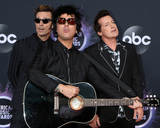 Billie Joe Armstrong Photo - LOS ANGELES - NOV 24  Green Day - Mike Dirnt Billie Joe Armstrong Tre Cool at the 47th American Music Awards - Arrivals at Microsoft Theater on November 24 2019 in Los Angeles CA