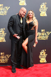 Amber Nicole Photo - LOS ANGELES - MAY 7  Tito Ortiz Amber Nicole Miller at the MTV Movie and Television Awards on the Shrine Auditorium on May 7 2017 in Los Angeles CA