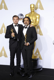 Alejandro Gonzalez Inarritu Photo - LOS ANGELES - FEB 28  Leonardo DiCpario Alejandro Gonzalez Inarritu at the 88th Annual Academy Awards - Press Room at the Dolby Theater on February 28 2016 in Los Angeles CA