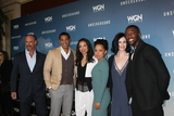 Alano Miller Photo - LOS ANGELES - JAN 8  Christopher Meloni Alano Miller Jurnee Smollett-Bell Amirah Vann Jessica de Gouw Aldis Hodge at the Underground WGN Winter 2016 TCA Photo Call at the The Langham Huntington Hotel on January 8 2016 in Pasadena CA