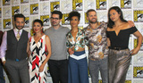CAS ANVAR Photo - SAN DIEGO - July 22  Cas Anvar Shohreh Aghdashloo Steven Strait Dominique Tipper Wes Chatham Frankie Adams at Comic-Con Saturday 2017 at the Comic-Con International Convention on July 22 2017 in San Diego CA