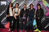 Albert Hammond Photo - LOS ANGELES - APR 20  Musicians Nick Valensi Albert Hammond Jr Fabrizio Moretti Nikolai Fraiture and Julian Casablancas of The Strokes arriving at the Launch Of The New T-Mobile Sidekick 4G  at Old RobinsonMay Building on April 20 2011 in Beverly Hills CA